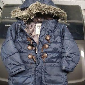 Child's winter puffer coat
